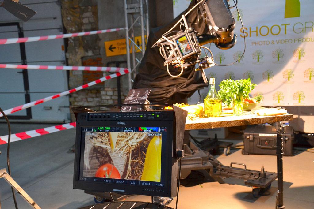 Automatische Fokussierungsanlage für Eine Videokamera: Food Fotografie