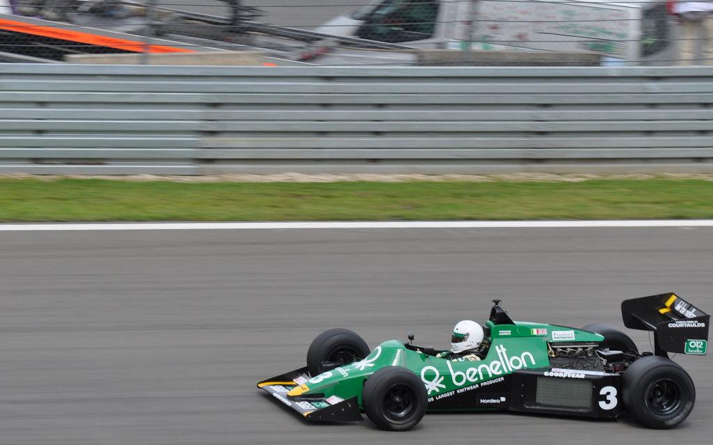 AvD-Oldtimer-Grand-Prix 2011: F1 Benetton