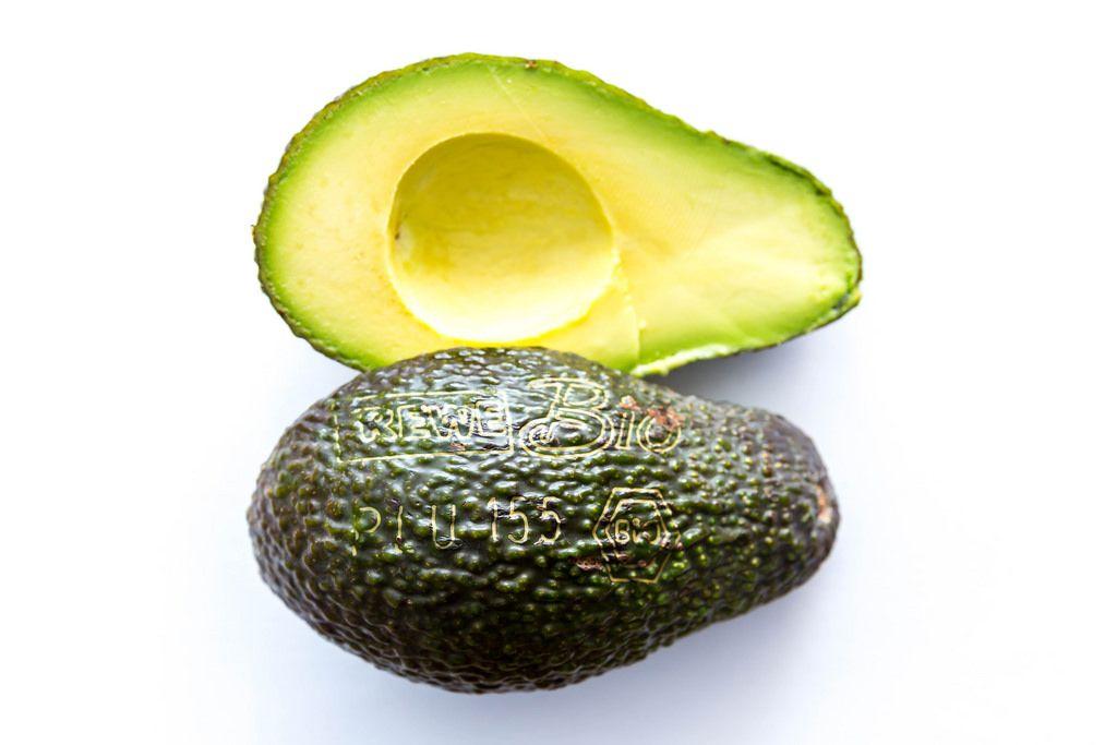 Avocado mit Gravur