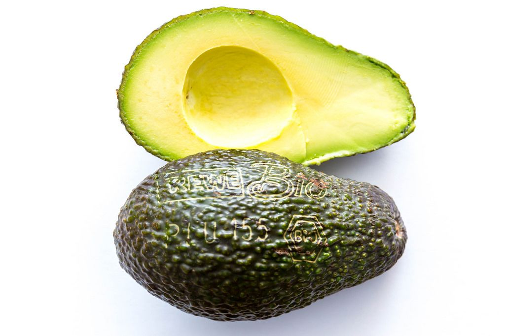 Avocado with Laser Engravement