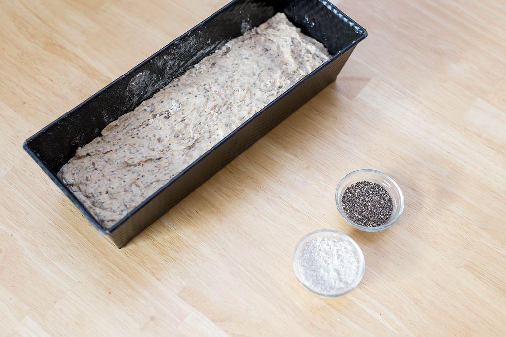 Backmischung für Chia-Brot