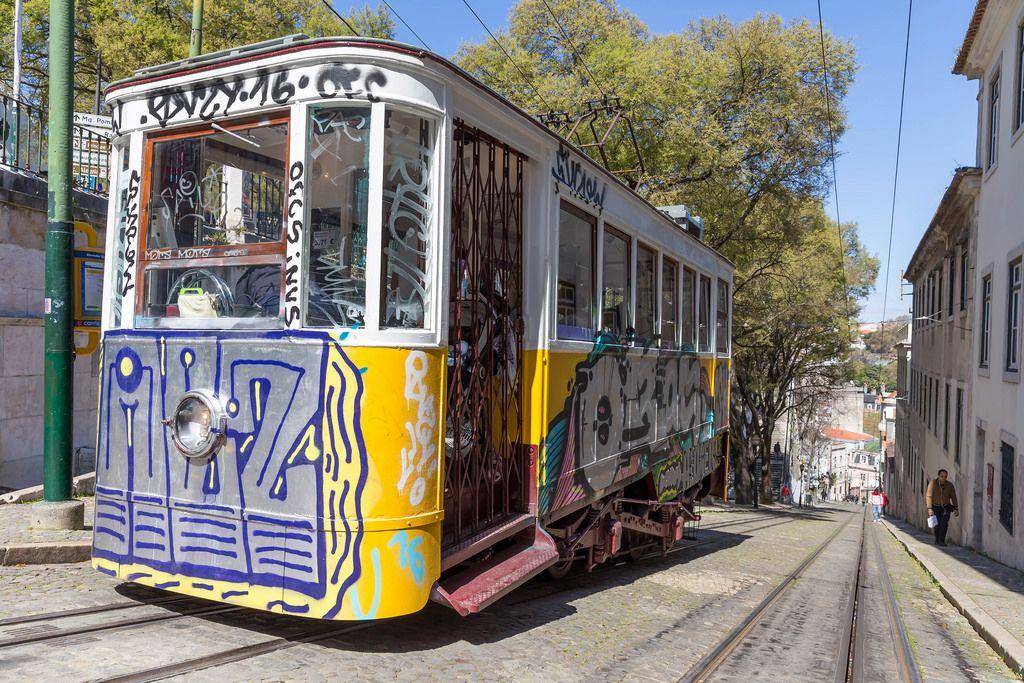 Bahn zu Miradouro Sao Pedro de Alcantara