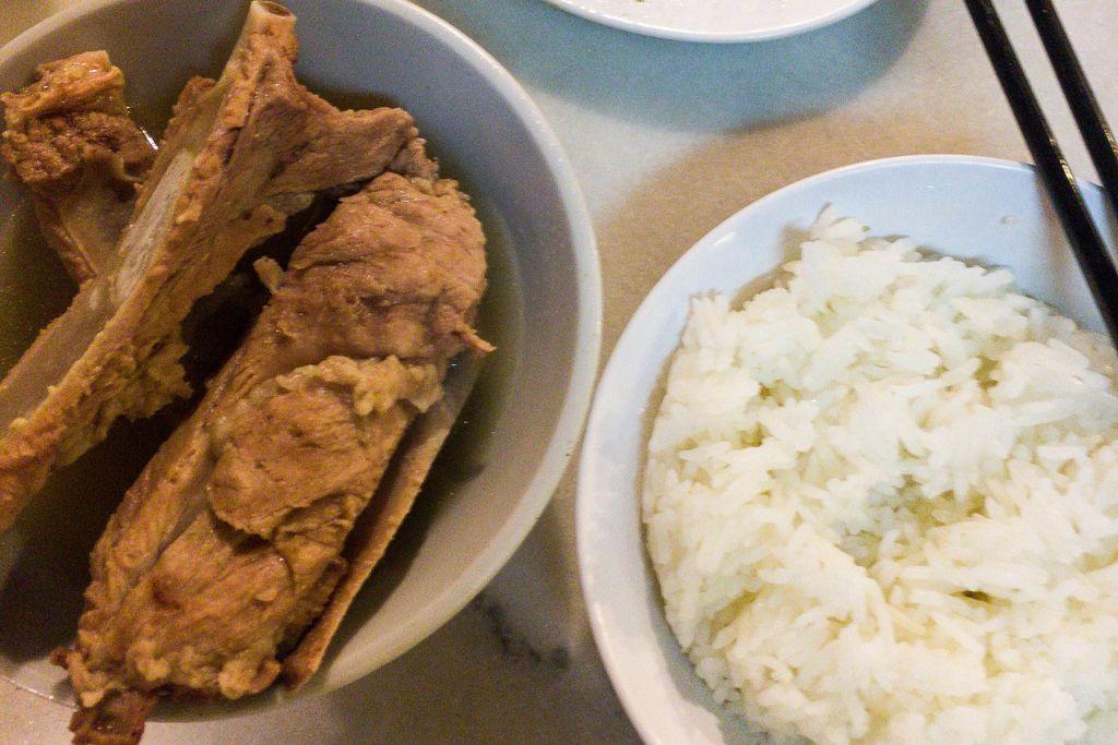 Bak Kut Teh: Soup with Pork