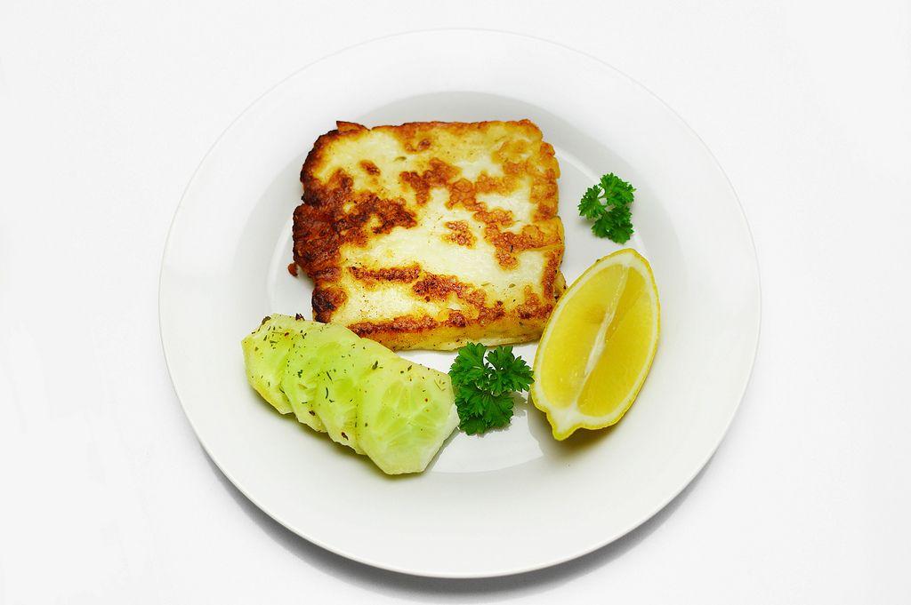 Baked halloumi cheese (Flip 2019) (Flip 2019) Flip 2019