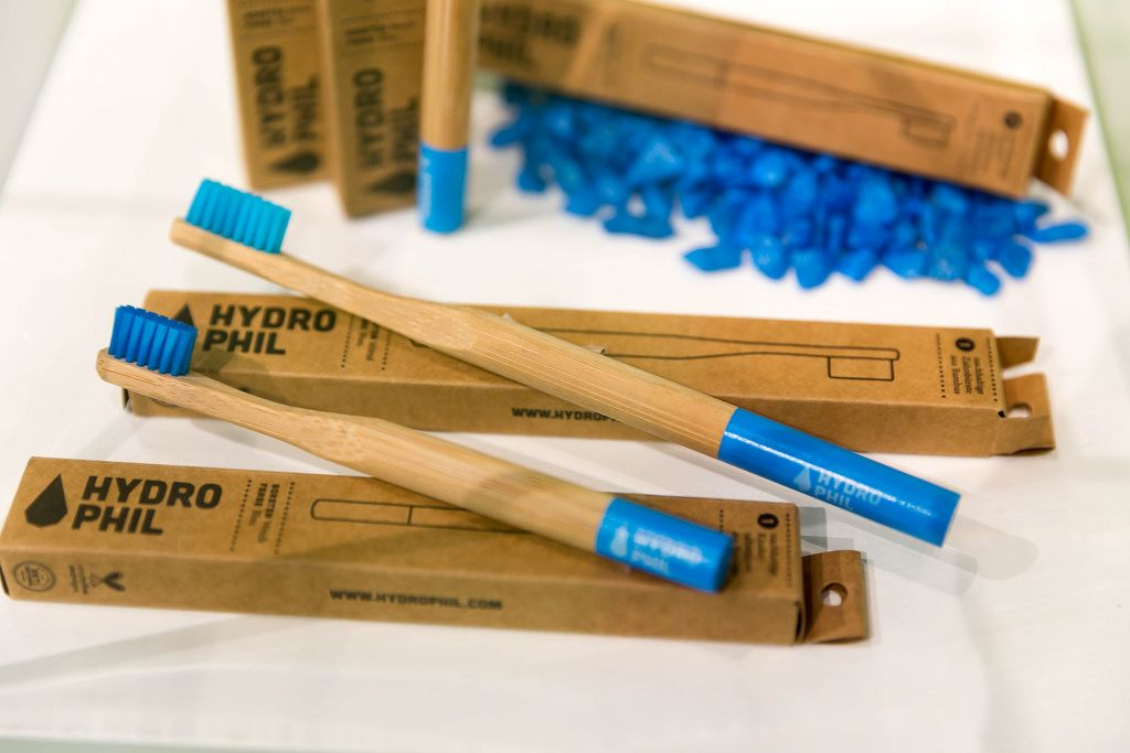 Bamboo tooth brushes by Hydrophil