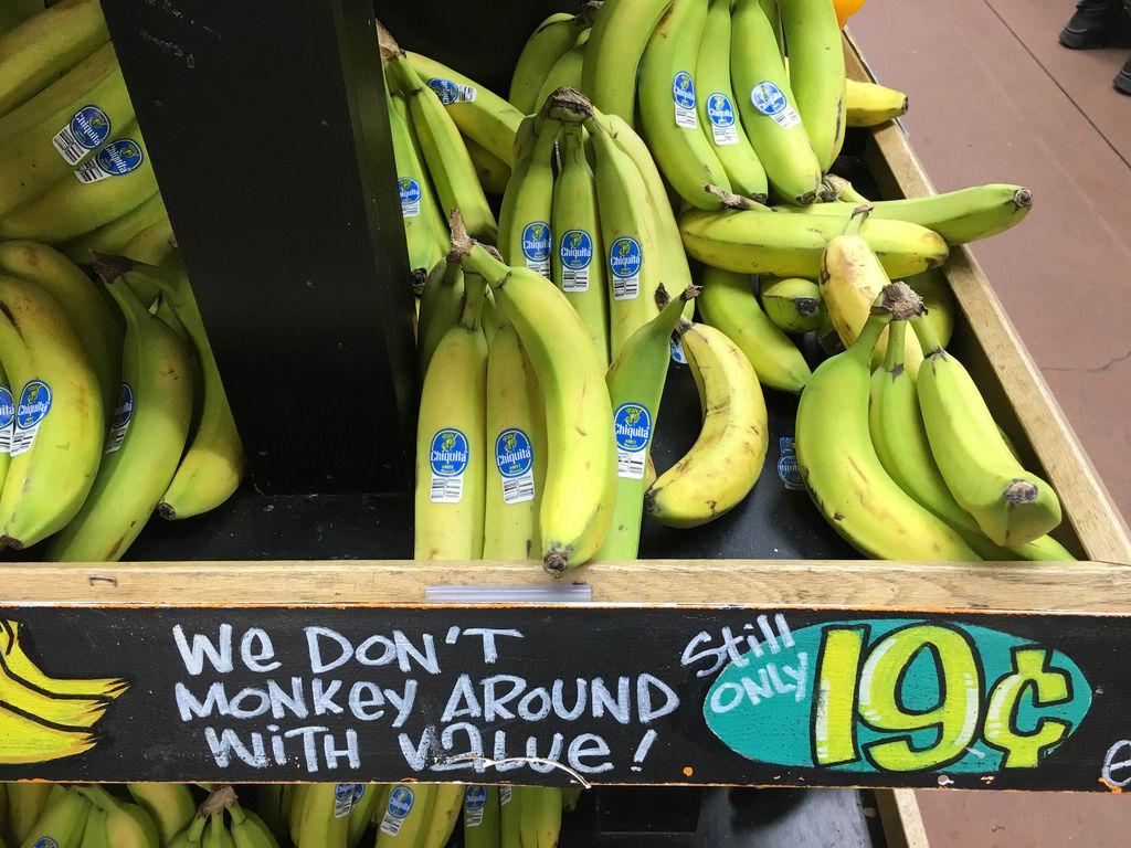 Bananas @ Traders Joe's