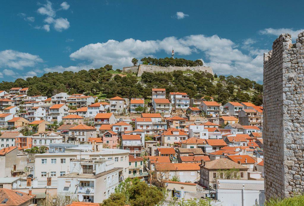 Barone fortress in Sibenik