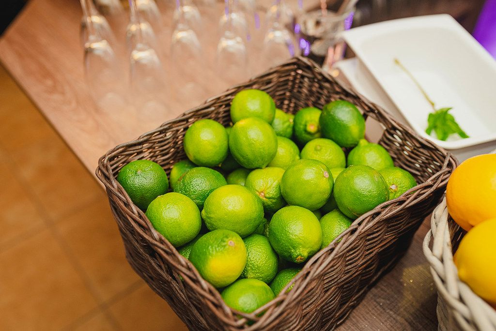 Basket Of Limes On The Table (Flip 2019)