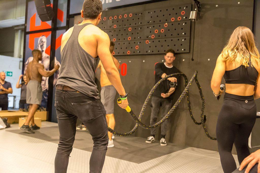 Battle Ropes Training - FIBO Cologne 2018