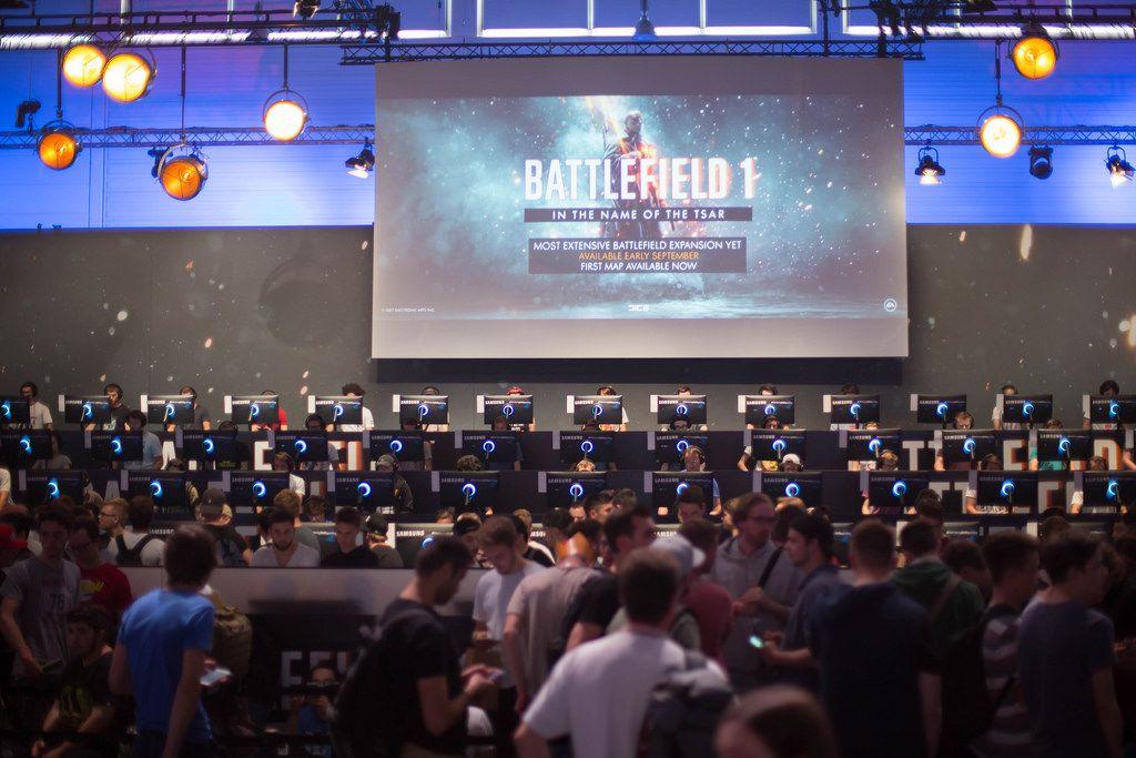 Battlefield 1 Gaming-Bühne