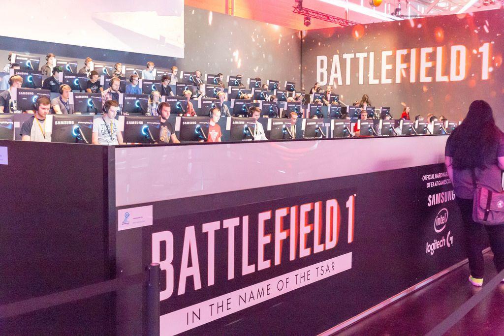 Battlefield 1 In the Name of the Tsar Gaming-Bühne - Gamescom 2017, Köln
