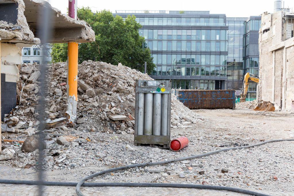 Baustelle am Rudolfplatz in Köln