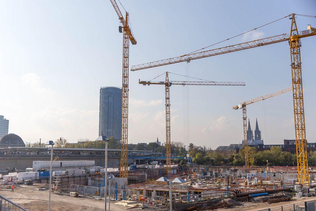 Baustelle MesseCity Köln