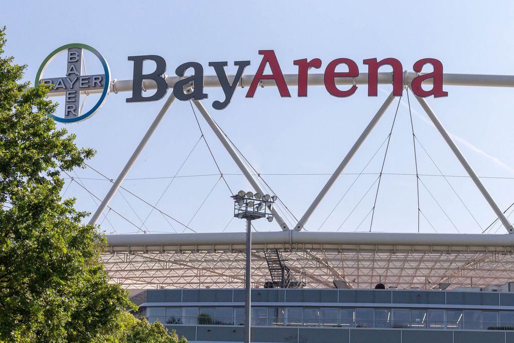 BayArena soccer stadium Bayer 04 Leverkusen