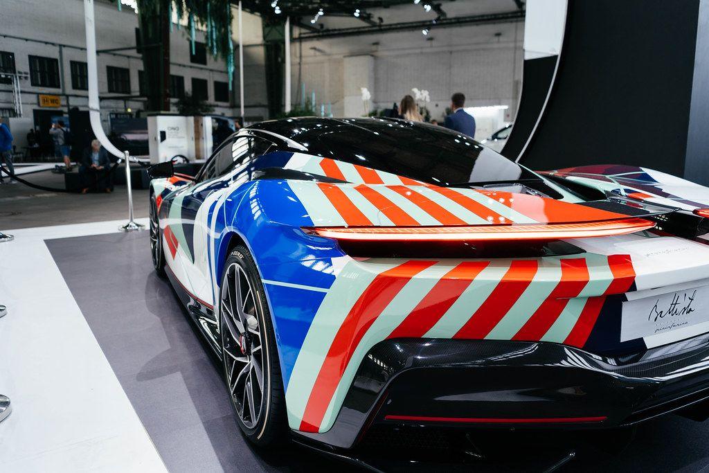 Beautiful concept sports cars by Pininfarina design studio