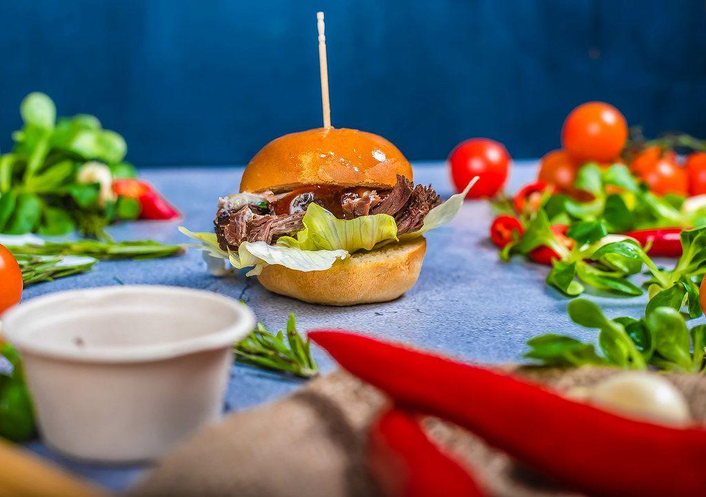 Beef Burger With Veggies (Flip 2019)