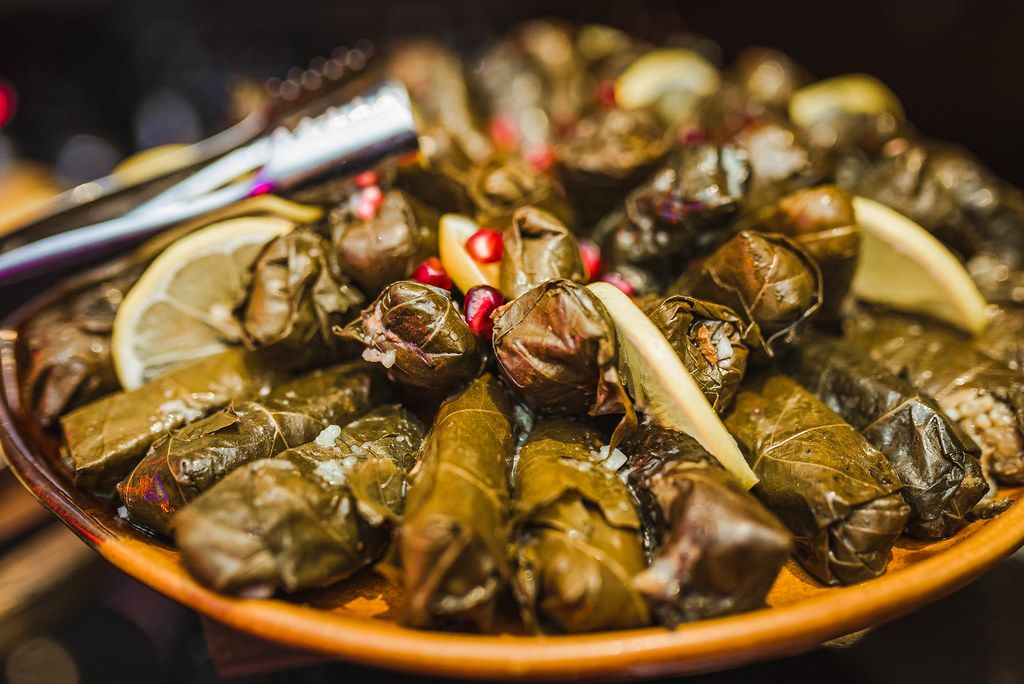 Beet Leaf Fillings With Minced Meat Filling With Lemon (Flip 2019)