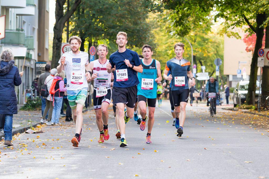 Bendix Phillip, Fritsch Jürgen, Schmidt Simon, Opitz Björn, Gollan Michael - Köln Marathon 2017