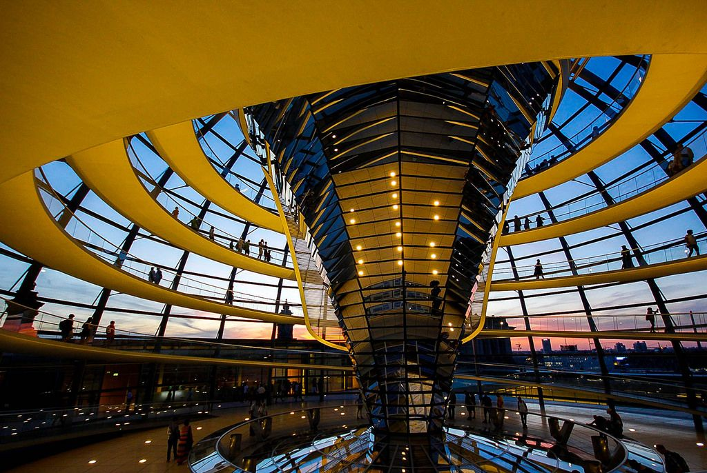 Berlin glass dome