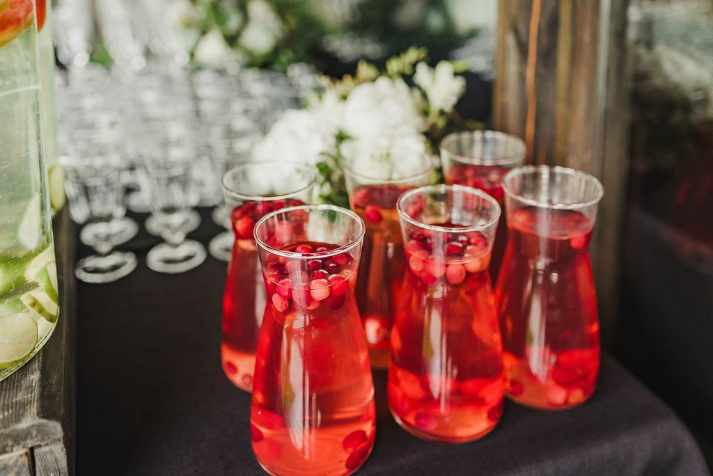 Berry Juice Water On Formal Table (Flip 2019)