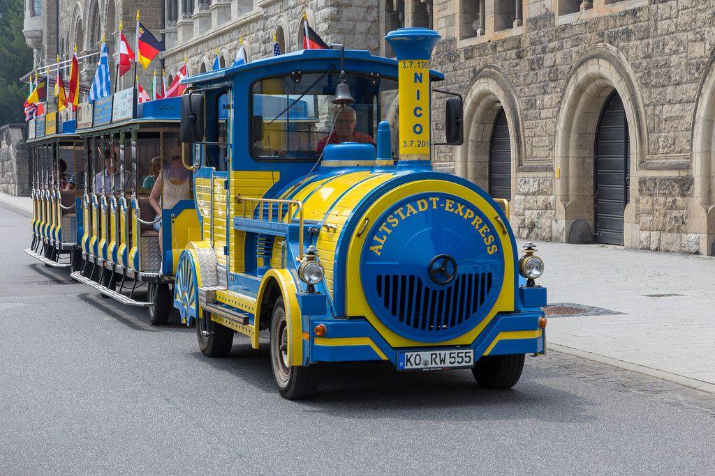Besichtigung von Koblenz mit dem kleinen Zug Altstadt-Express