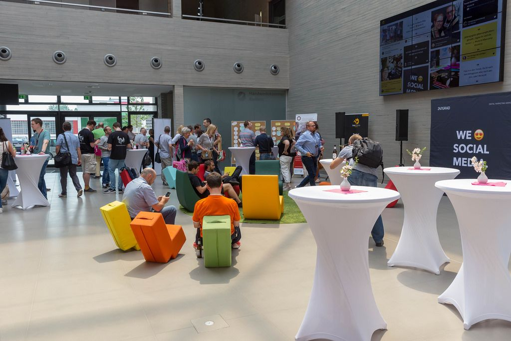 Besucher beim Barcamp 2018 in Koblenz
