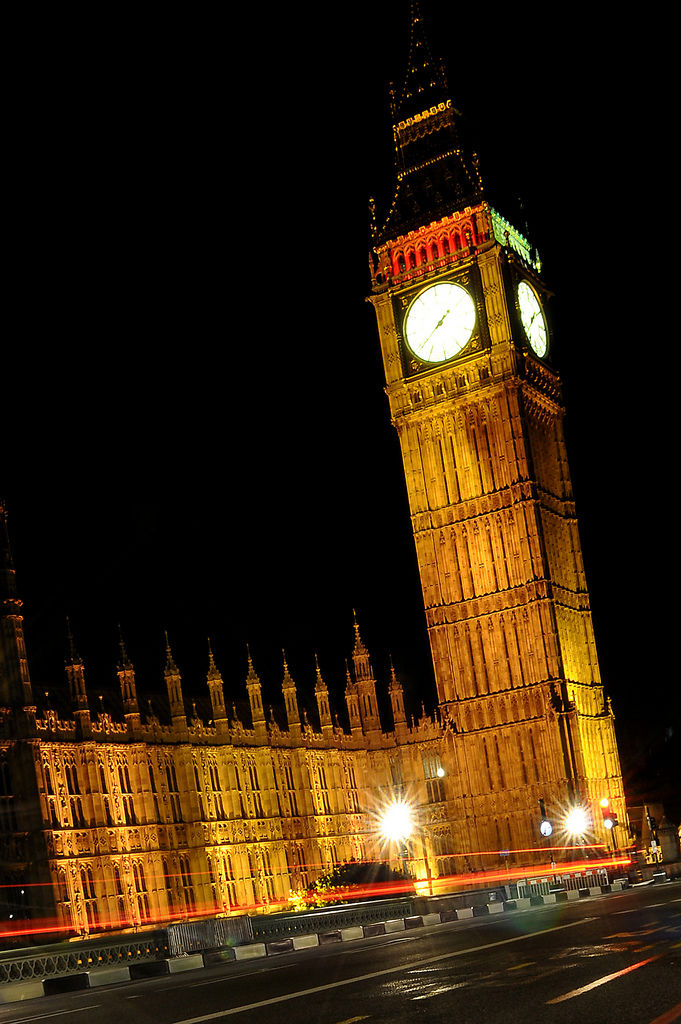 Big Ben in London bei Nacht