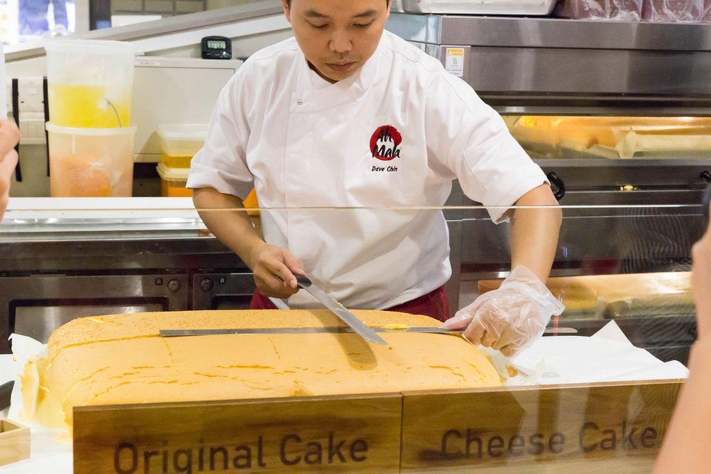 Big Cheese Cake. Opening of Ah Mah Homemade Cakes