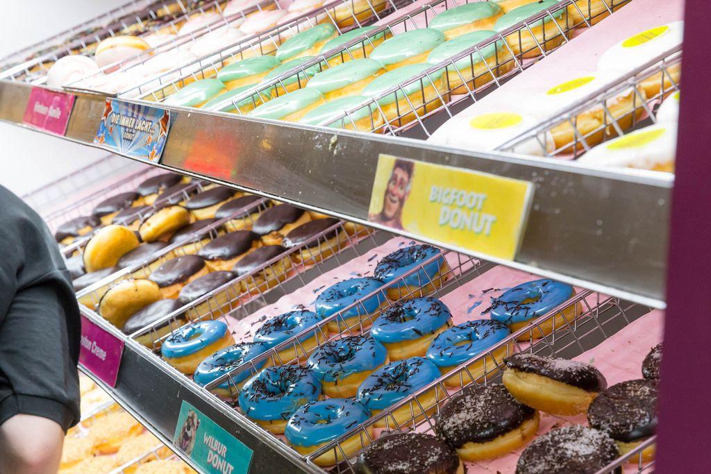 Bigfoot, Wilbur und weitere Donut-Sorten bei Dunkin' Donuts