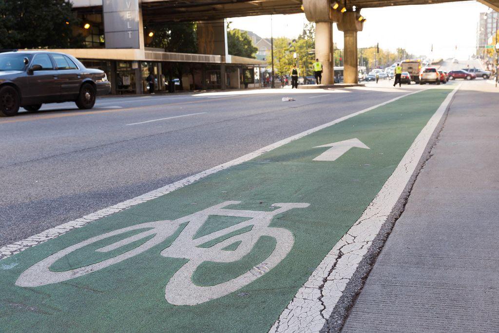 Bike Lane in Chicago