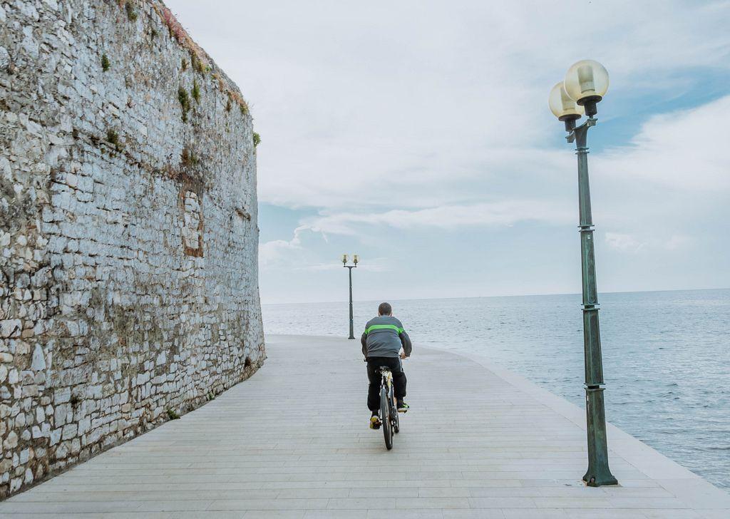 Biker in Porec