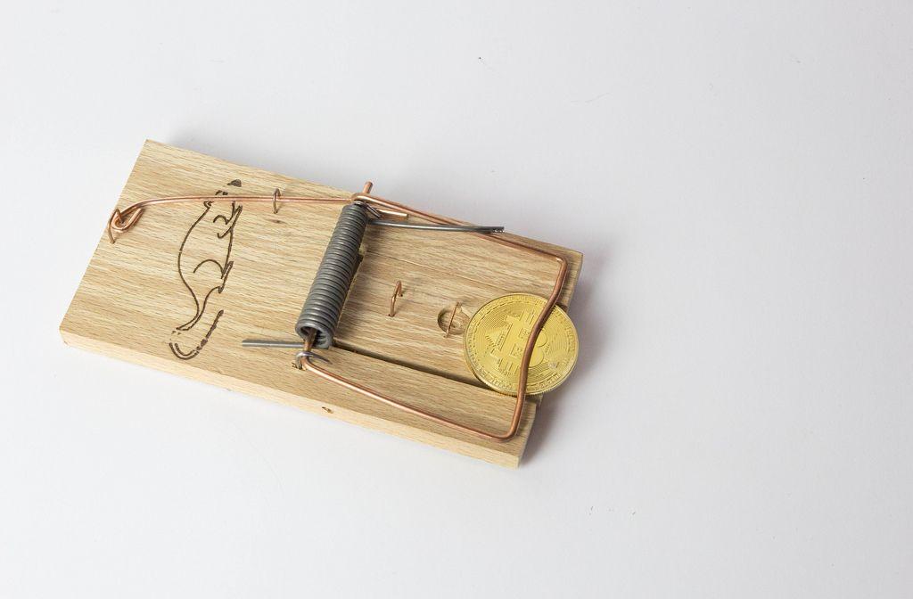 Bitcoin caught in trap