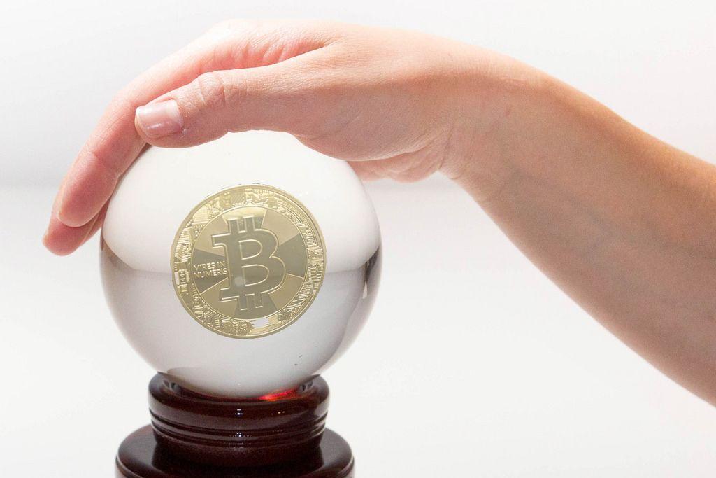 Bitcoin-Glaskugel