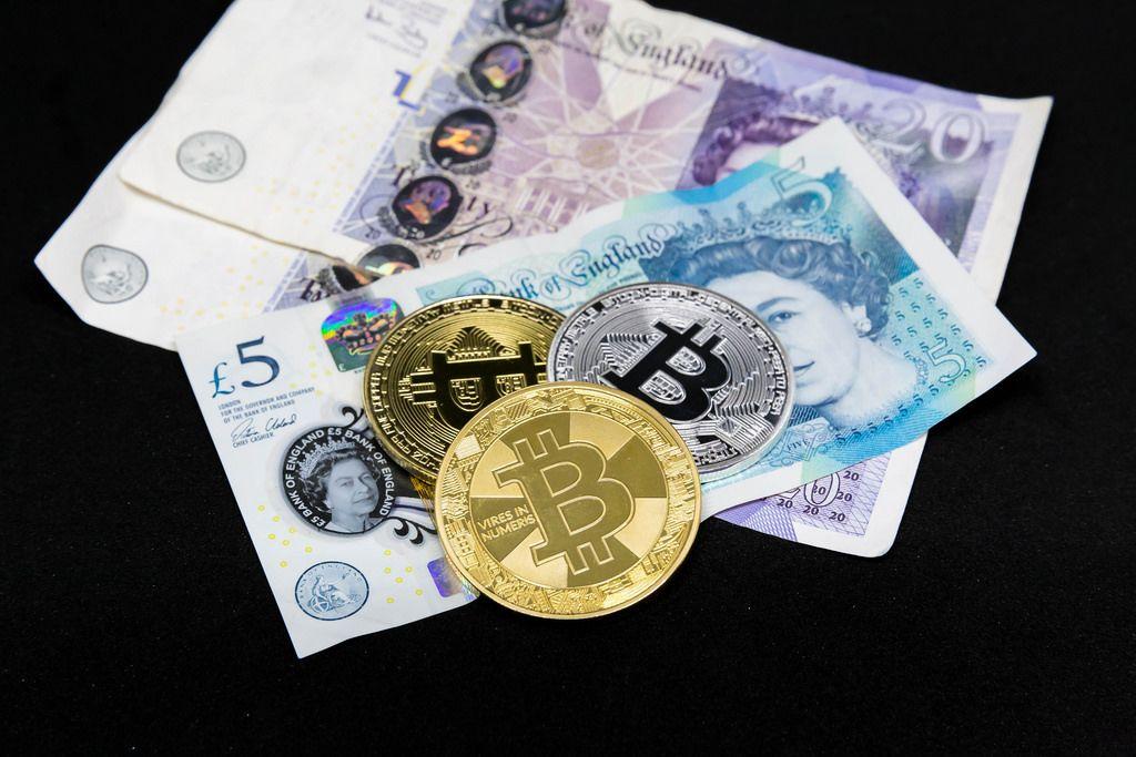 Bitcoin und britische Pfund
