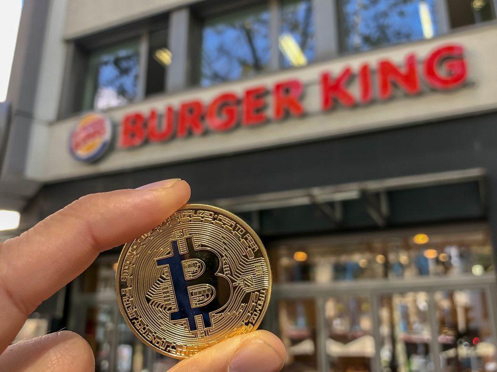 Bitcoin wird in Deutschland bei Burger King akzeptiert