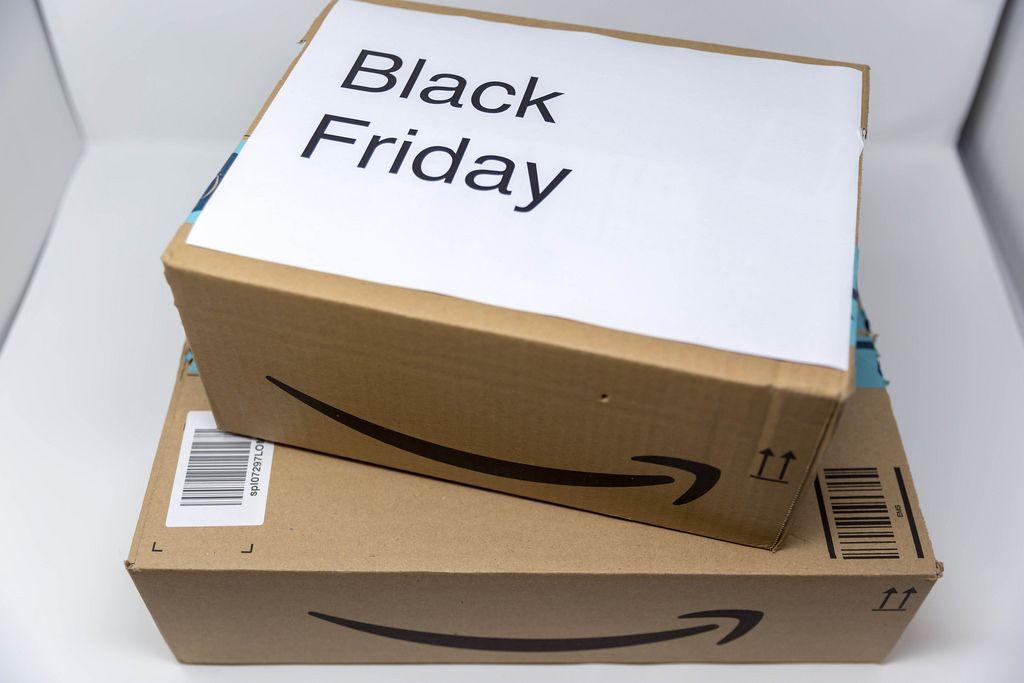 Black Friday Bestellungen bei Amazon