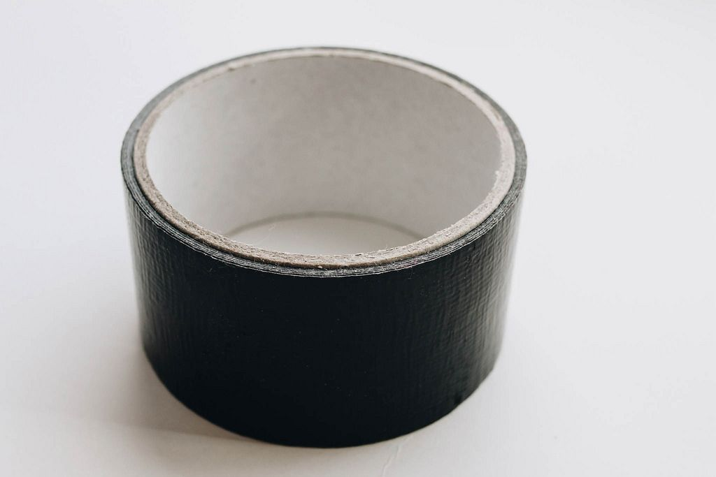 Black insulation tape