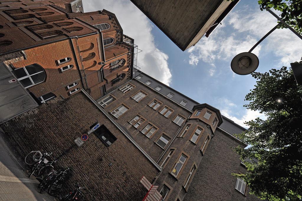 Blick von der Musikhochschule Köln