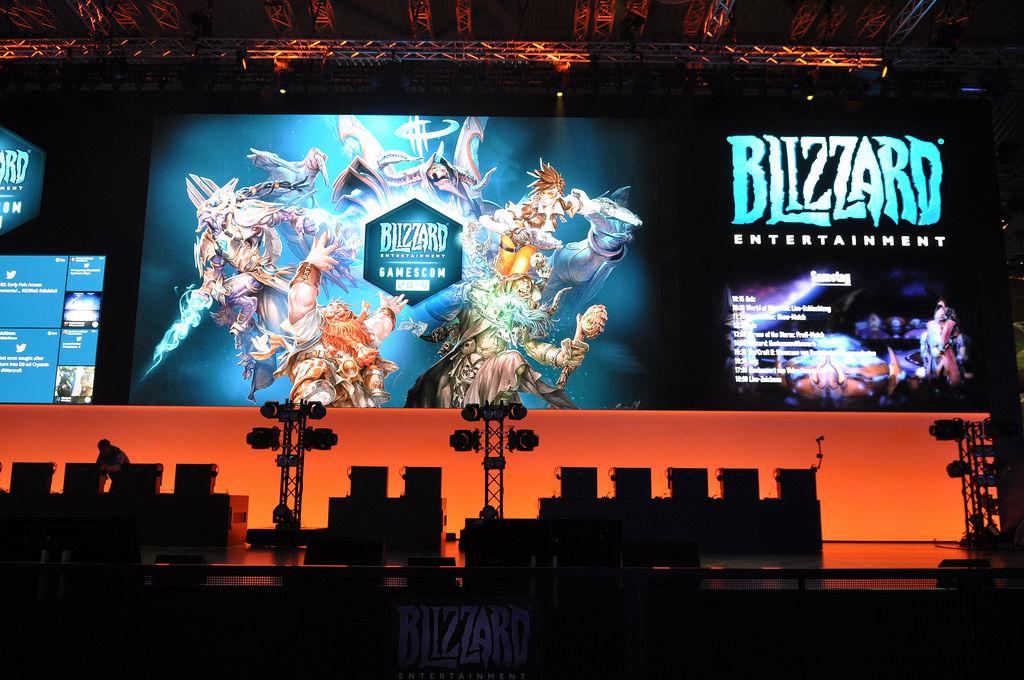 Blizzard auf der Gamescom