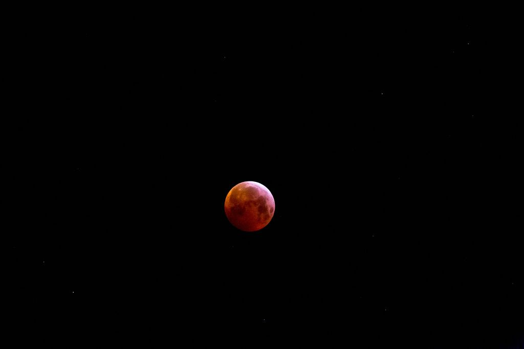 Blood Moon Eclipse in Cologne in 2019