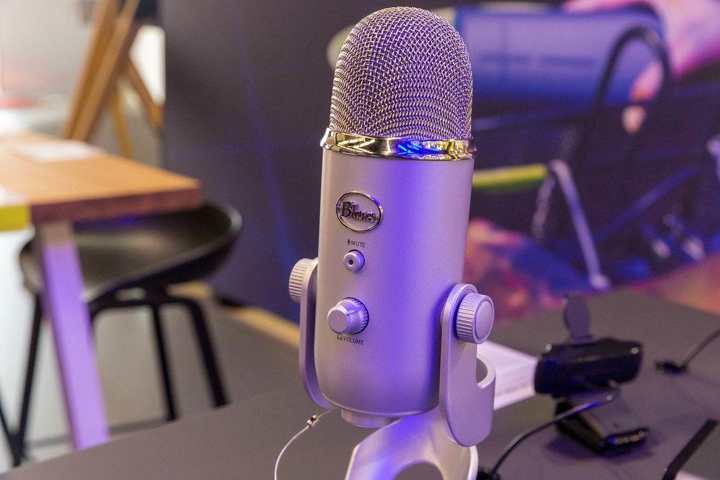 Blue Yeti USB Mikrofon für Youtuber, Gaming streams und Podcast