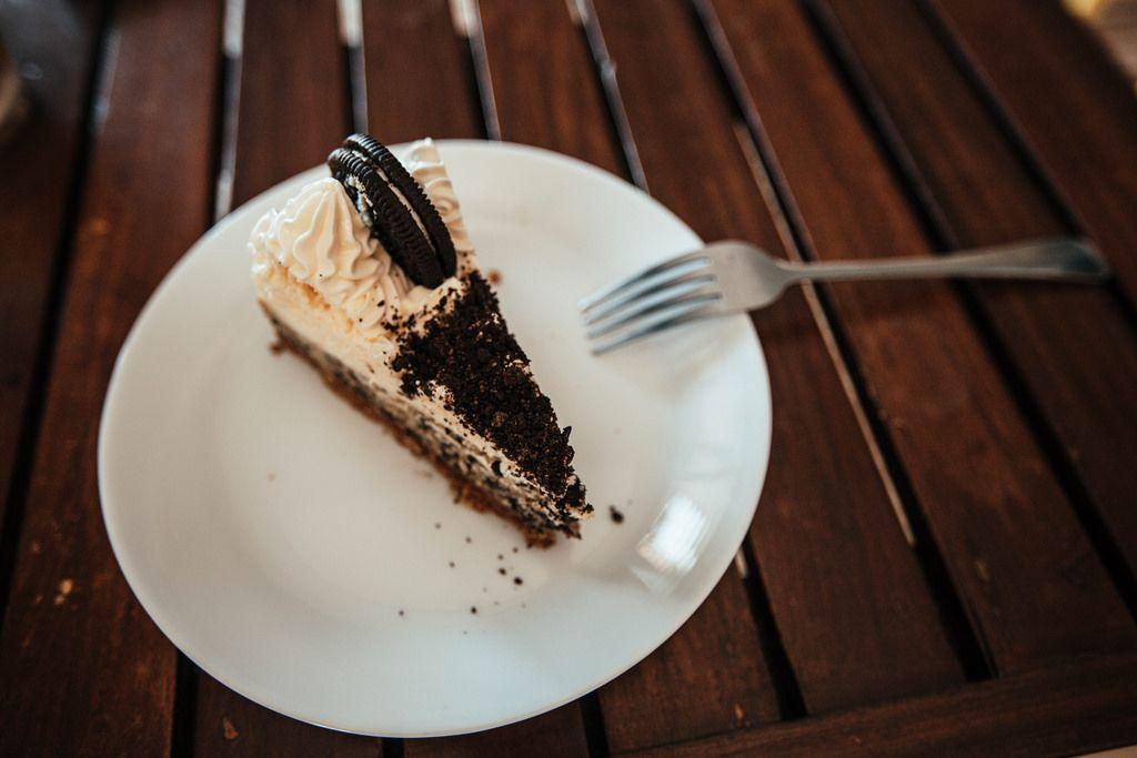 Blueberry Cheesecake mit Oreo