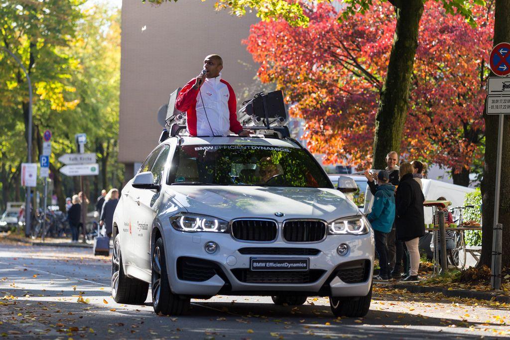 BMW Efficient Dynamics Fahrzeug - Köln Marathon 2017