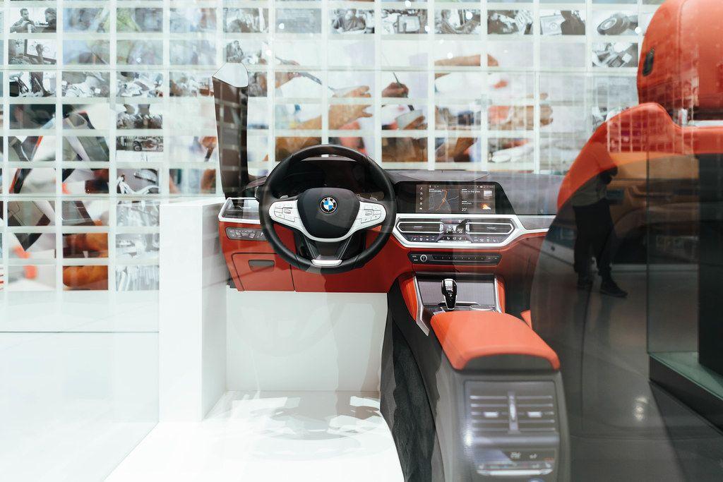 BMW interior prototype in design studio