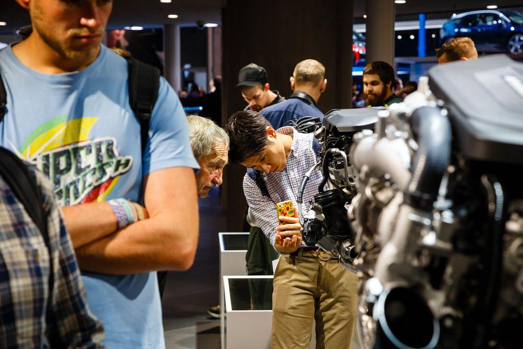 BMW Motoren bei der IAA 2017 in Frankfurt am Main