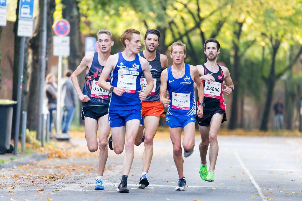 Bock Alexander, Scherr Julius, Uphues Christoph, Späth Oliver - Köln Marathon 2017