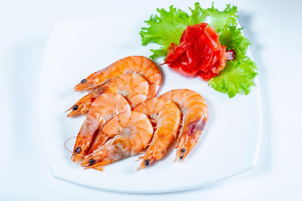 Boiled shrimp with pickled ginger (Flip 2019) (Flip 2019) Flip 2019