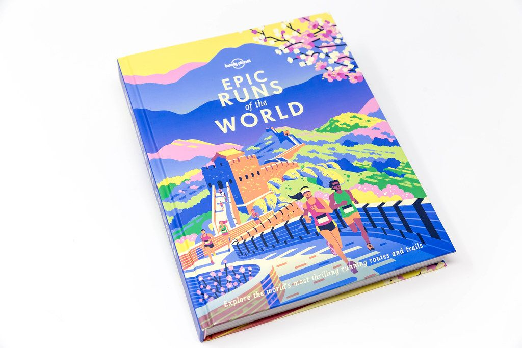 Book for sports people: Epic Runs of the world shows running routes and trails