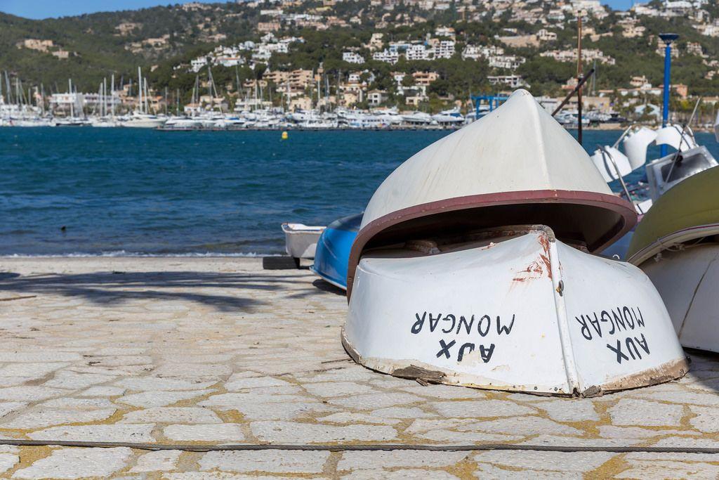 Boote am Land - Puerto de Andraitx, Mallorca