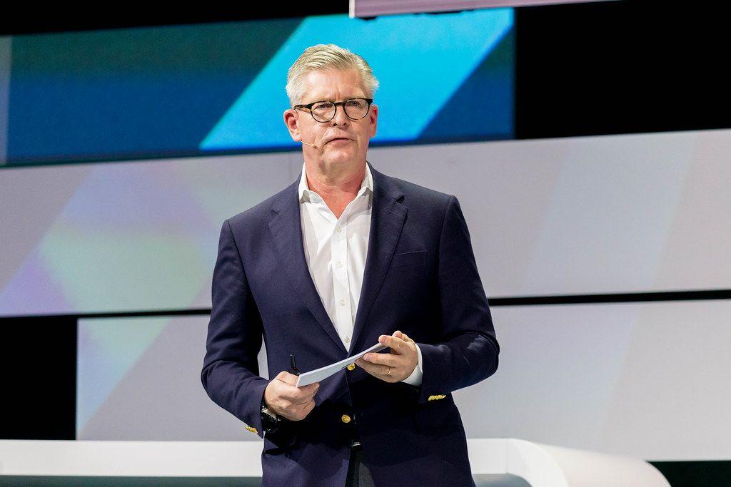 Börje Ekholm, CEO of Ericsson keynote speech at Digital X in Cologne